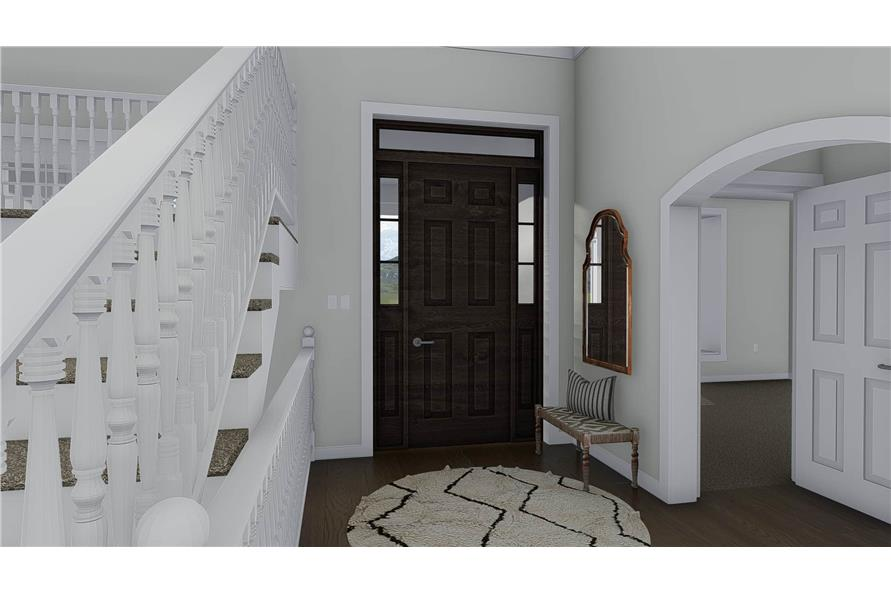 Entry Hall: Foyer of this 3-Bedroom,2920 Sq Ft Plan -2920