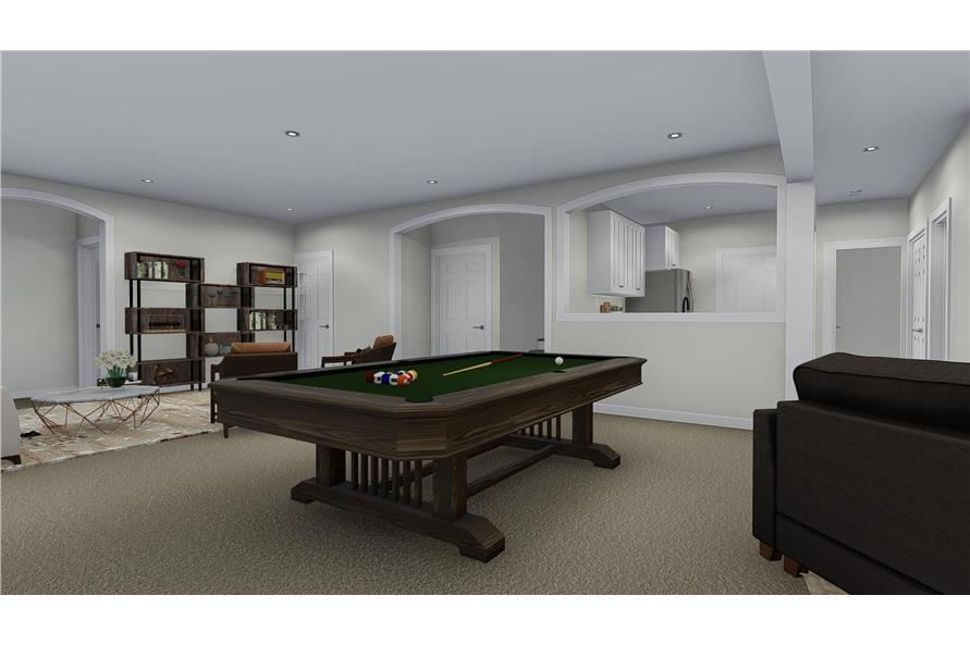 Home Plan Rendering of this 3-Bedroom,2920 Sq Ft Plan -2920