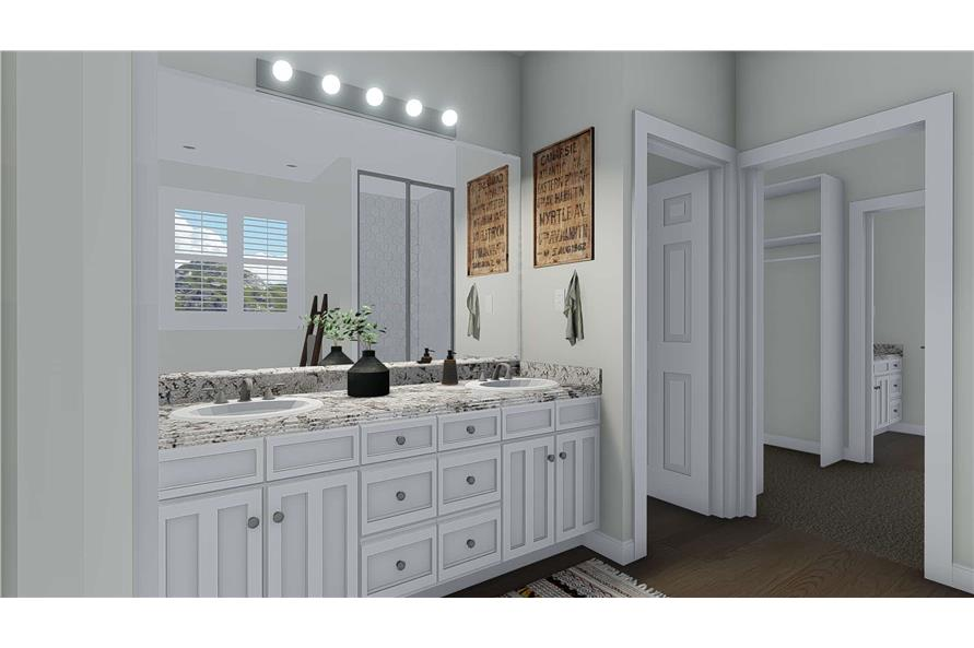 Master Bathroom of this 3-Bedroom,2920 Sq Ft Plan -2920