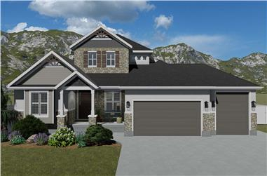 3-Bedroom, 2920 Sq Ft Contemporary Home - Plan #187-1154 - Main Exterior