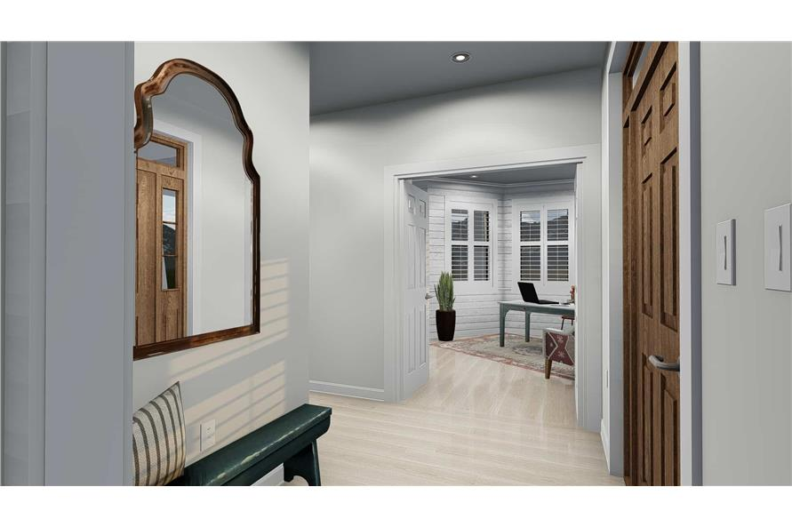Entry Hall: Foyer of this 4-Bedroom,2898 Sq Ft Plan -2898