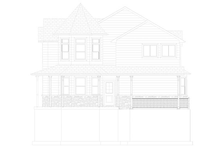 187-1157: Home Plan Right Elevation