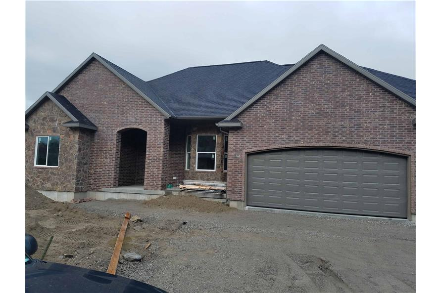 Front View of this 1-Bedroom,2428 Sq Ft Plan -2428