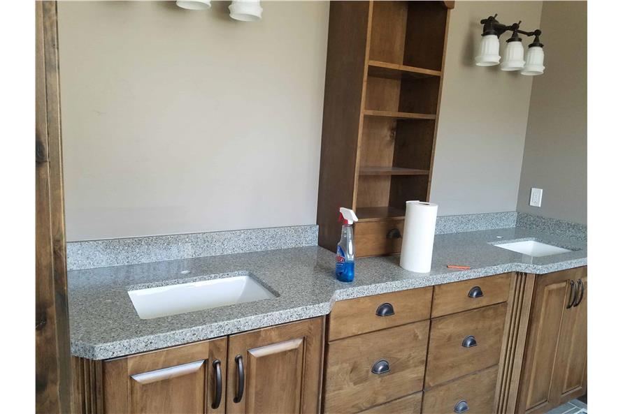 Master Bathroom: Sink/Vanity of this 1-Bedroom,2428 Sq Ft Plan -2428