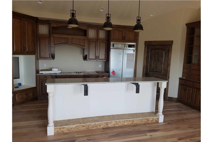 Kitchen of this 1-Bedroom,2428 Sq Ft Plan -2428