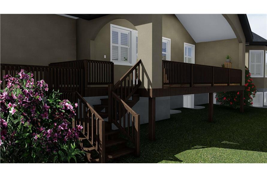 Deck of this 1-Bedroom,2428 Sq Ft Plan -187-1159