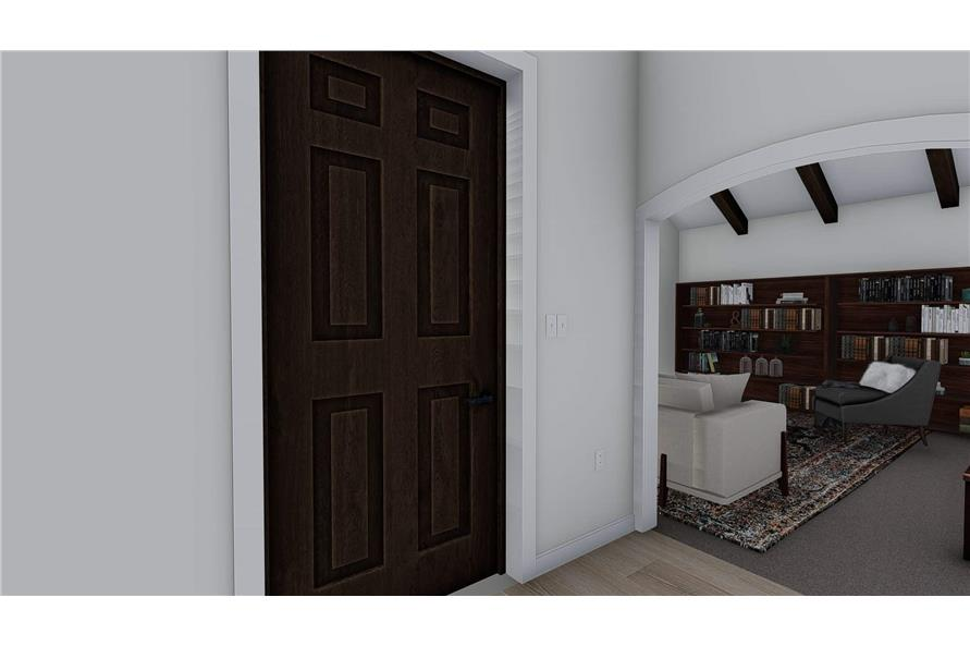 Entry Hall: Foyer of this 1-Bedroom,2428 Sq Ft Plan -187-1159