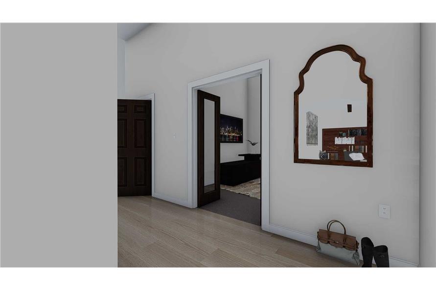 Home Plan Rendering of this 1-Bedroom,2428 Sq Ft Plan -187-1159