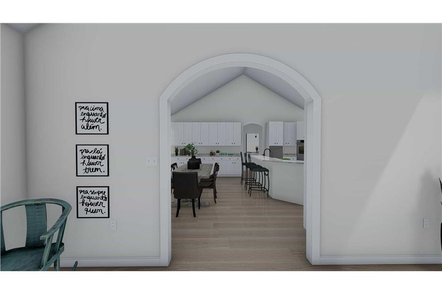 Dining Room of this 1-Bedroom,2428 Sq Ft Plan -187-1159