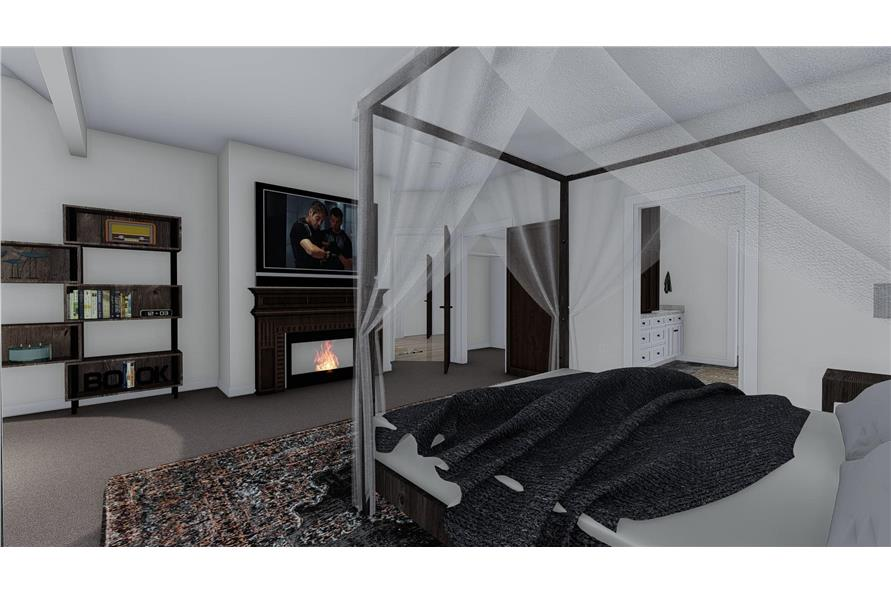 Master Bedroom of this 1-Bedroom,2428 Sq Ft Plan -187-1159