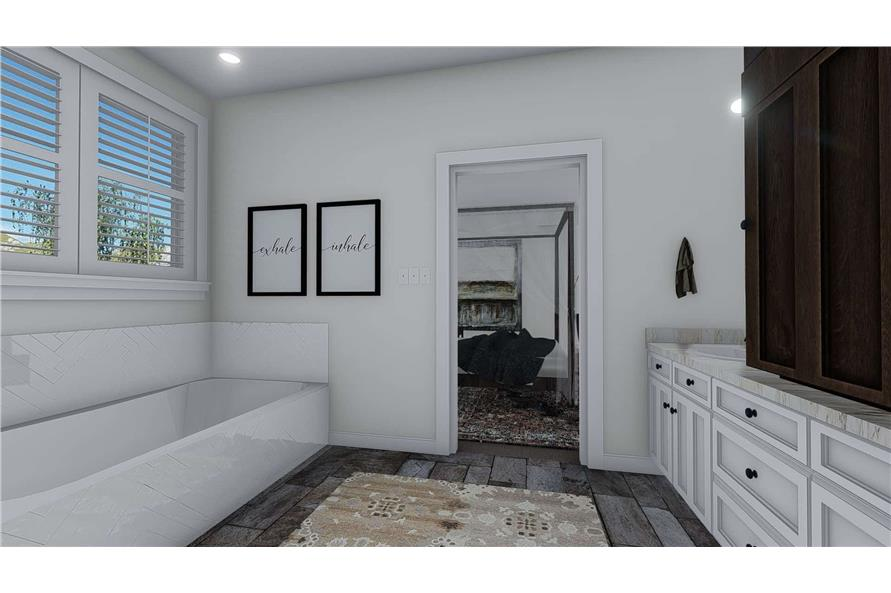 Master Bathroom of this 1-Bedroom,2428 Sq Ft Plan -187-1159