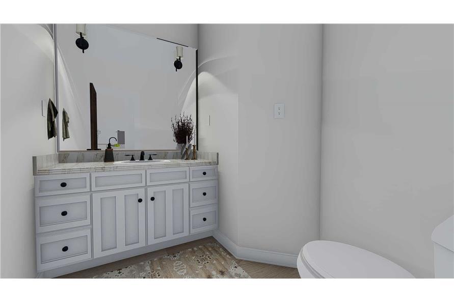 Bathroom of this 1-Bedroom,2428 Sq Ft Plan -187-1159