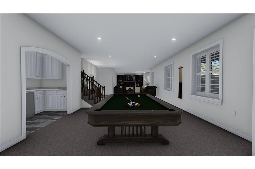 Family Room of this 1-Bedroom,2428 Sq Ft Plan -187-1159
