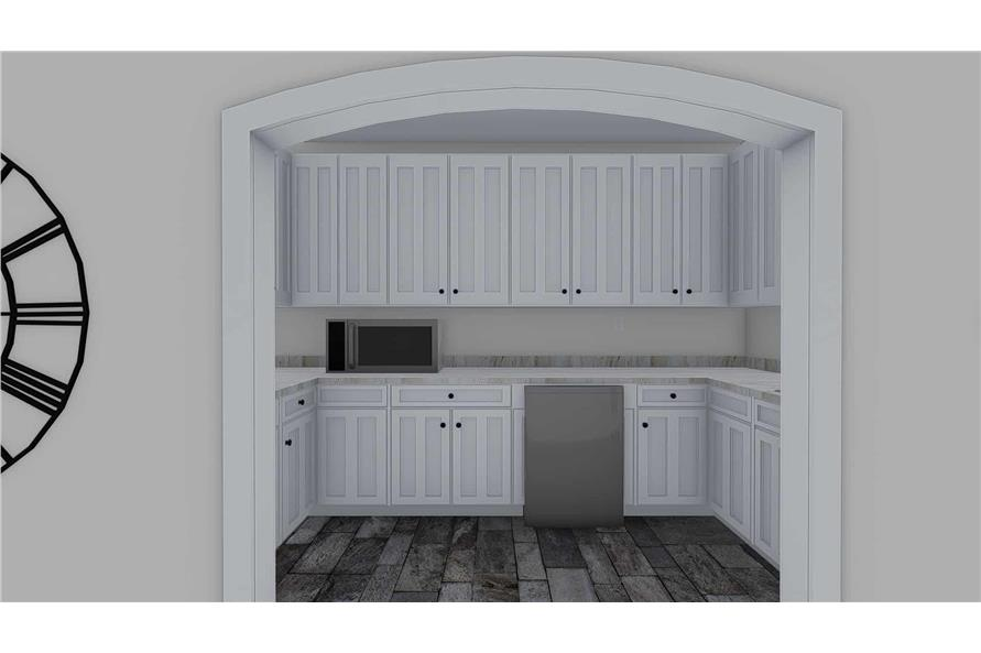 Kitchen of this 1-Bedroom,2428 Sq Ft Plan -187-1159