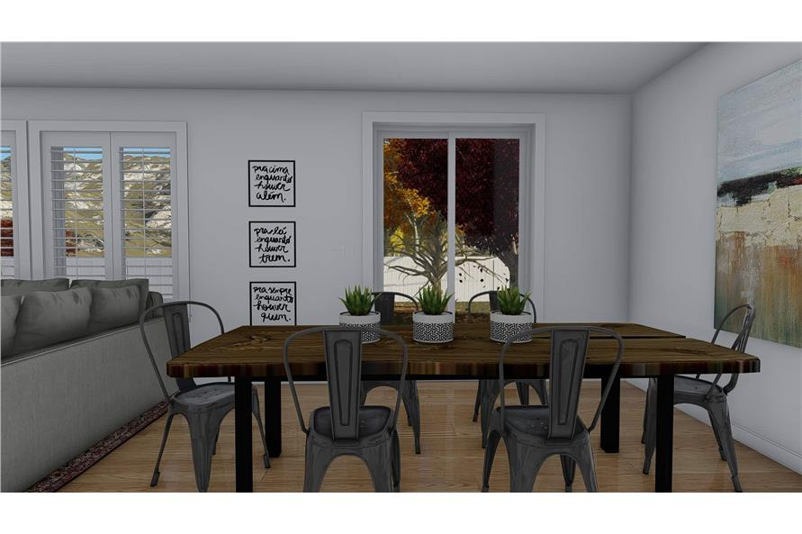 Dining Room of this 4-Bedroom,2710 Sq Ft Plan -187-1162