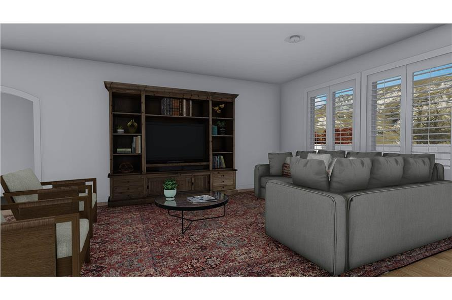 Family Room of this 4-Bedroom,2710 Sq Ft Plan -187-1162
