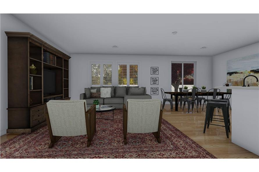 Great Room of this 4-Bedroom,2710 Sq Ft Plan -187-1162