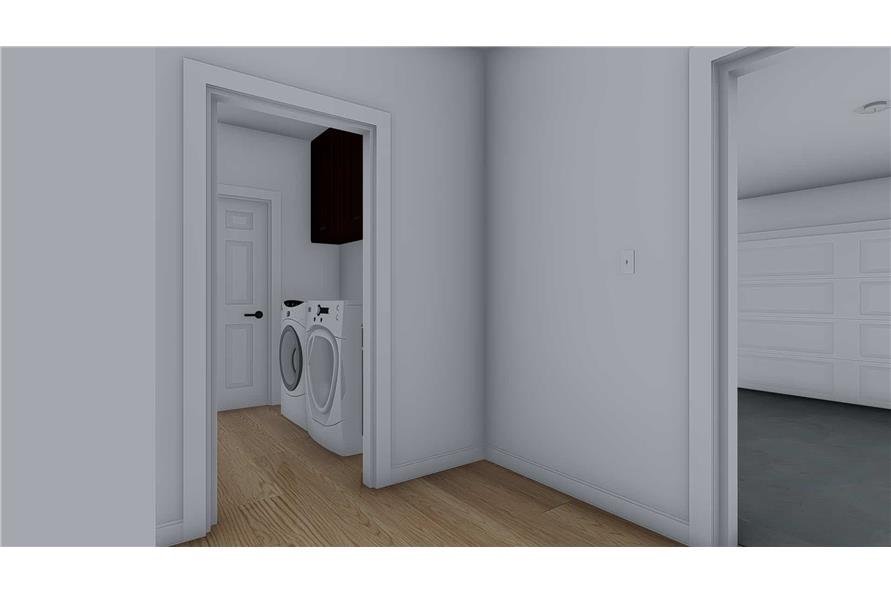 Laundry Room of this 4-Bedroom,2710 Sq Ft Plan -187-1162