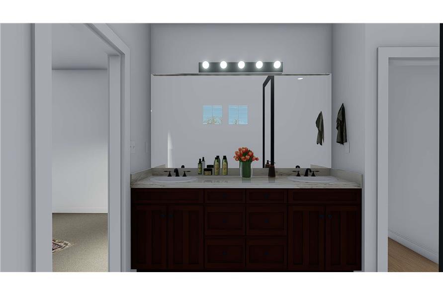 Bathroom of this 4-Bedroom,2710 Sq Ft Plan -187-1162