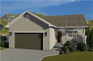 2–4-Bedroom, 1069–2138 Sq Ft Ranch Home - Plan #187-1164 - Main Exterior