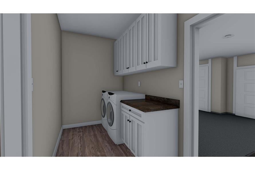 Laundry Room of this 3-Bedroom,1699 Sq Ft Plan -187-1173