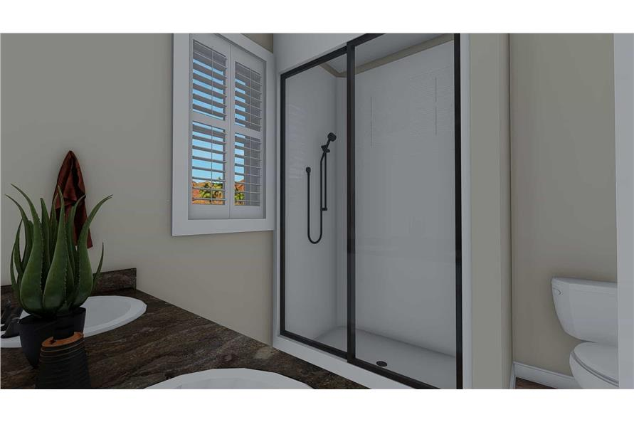 Master Bathroom of this 3-Bedroom,1699 Sq Ft Plan -187-1173