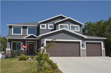 4–6-Bedroom, 2313–3928 Sq Ft Contemporary Home - Plan #187-1175 - Main Exterior