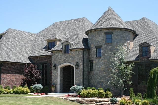 Grey Stone House Exterior