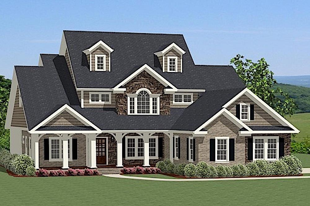 Farmhouse Home - The Plan Collection - Plan #189-1016