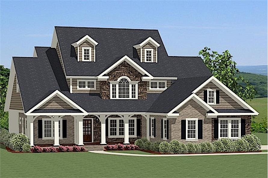 4-Bedroom, 2880 Sq Ft Farmhouse Home - Plan #189-1016