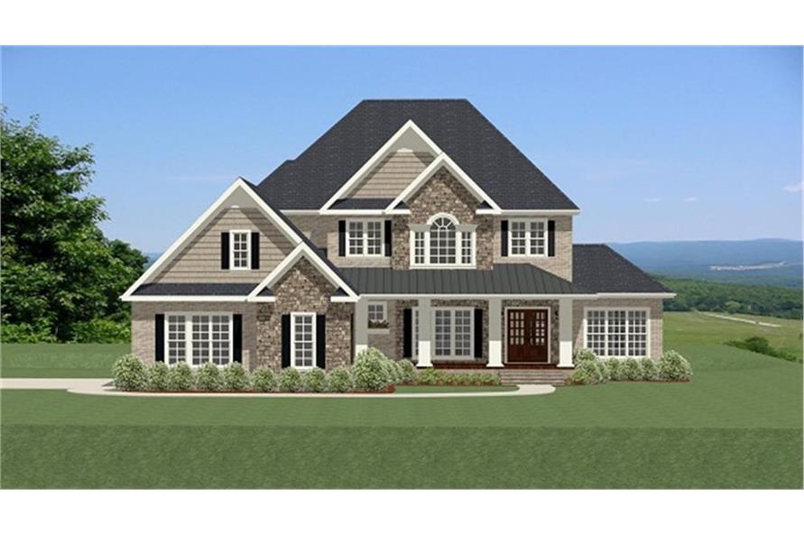 189-1072: Home Plan Rendering