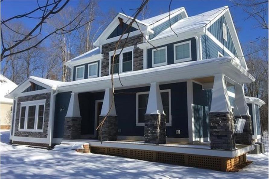 4 Bedrm, 2988 Sq Ft Craftsman House Plan #189-1093