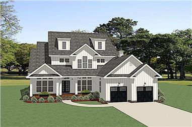 3-Bedroom, 2715 Sq Ft Farmhouse House - Plan #189-1134 - Front Exterior