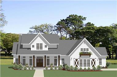 3-Bedroom, 2680 Sq Ft Ranch Home - Plan #189-1137 - Main Exterior