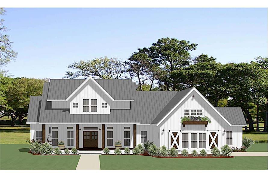 3-Bedroom, 2680 Sq Ft Ranch Home - Plan #189-1137 - Main Exterior