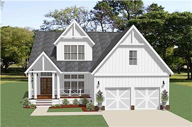 3-Bedroom, 2337 Sq Ft Farmhouse Home - Plan #189-1139 - Front Exterior