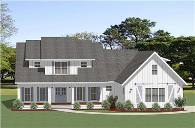 3-Bedroom, 2324 Sq Ft Farmhouse Home - Plan #189-1141 - Front Exterior