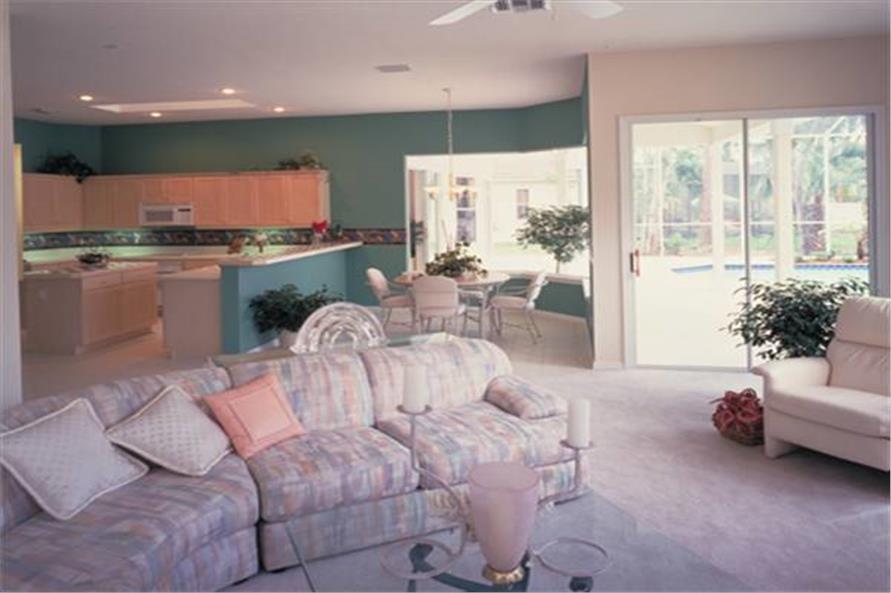 190-1000: Home Interior Photograph-Kitchen: Breakfast Nook