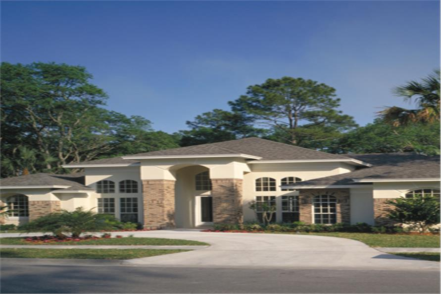 Home Exterior Photograph of this 4-Bedroom,2597 Sq Ft Plan -2597