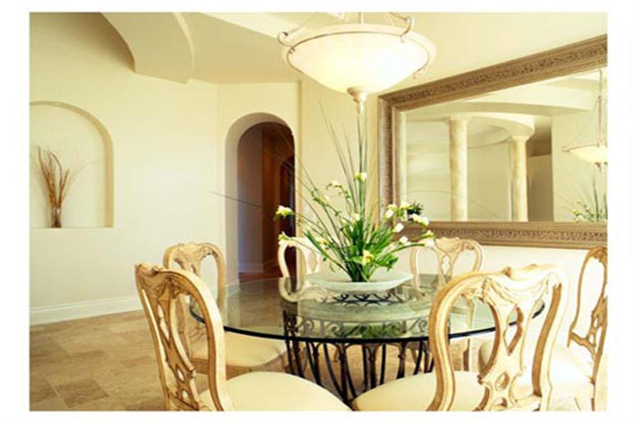 Dining Room of this 4-Bedroom,3556 Sq Ft Plan -3556