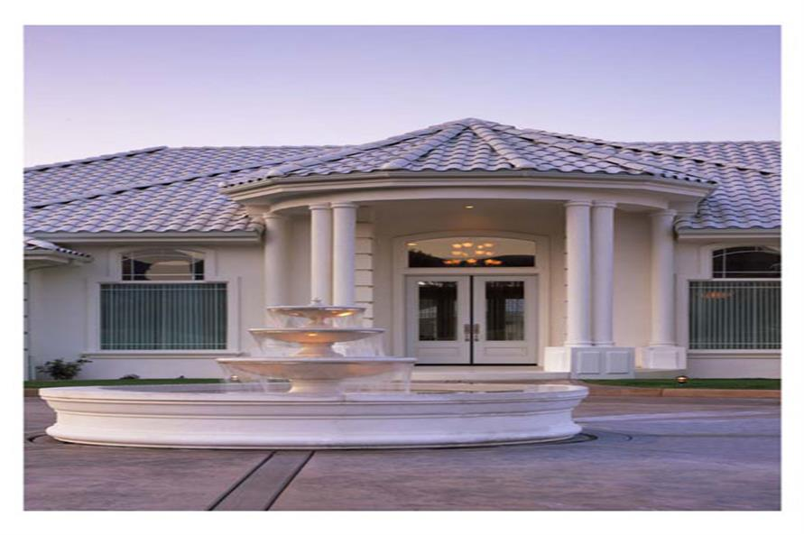 Porch of this 4-Bedroom,3556 Sq Ft Plan -3556