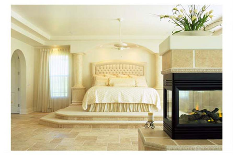 Master Bedroom of this 4-Bedroom,3556 Sq Ft Plan -3556