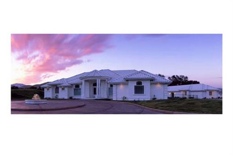 Home at Night of this 4-Bedroom,3556 Sq Ft Plan -3556