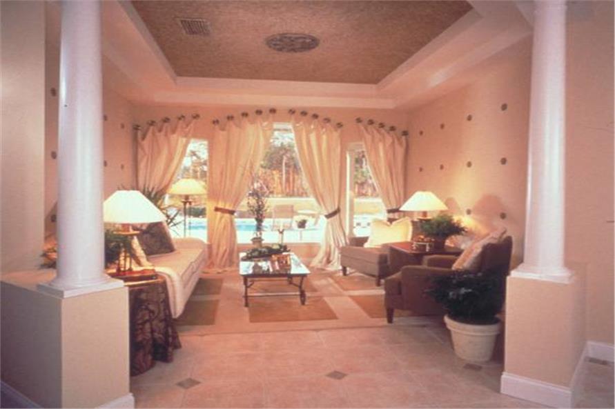 190-1004: Home Interior Photograph-Living Room