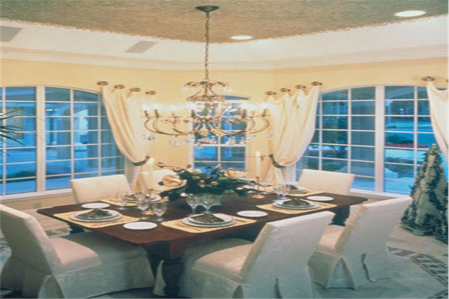 190-1004: Home Interior Photograph-Dining Room