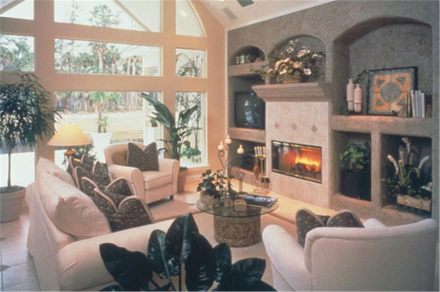 190-1004: Home Interior Photograph-Family Room