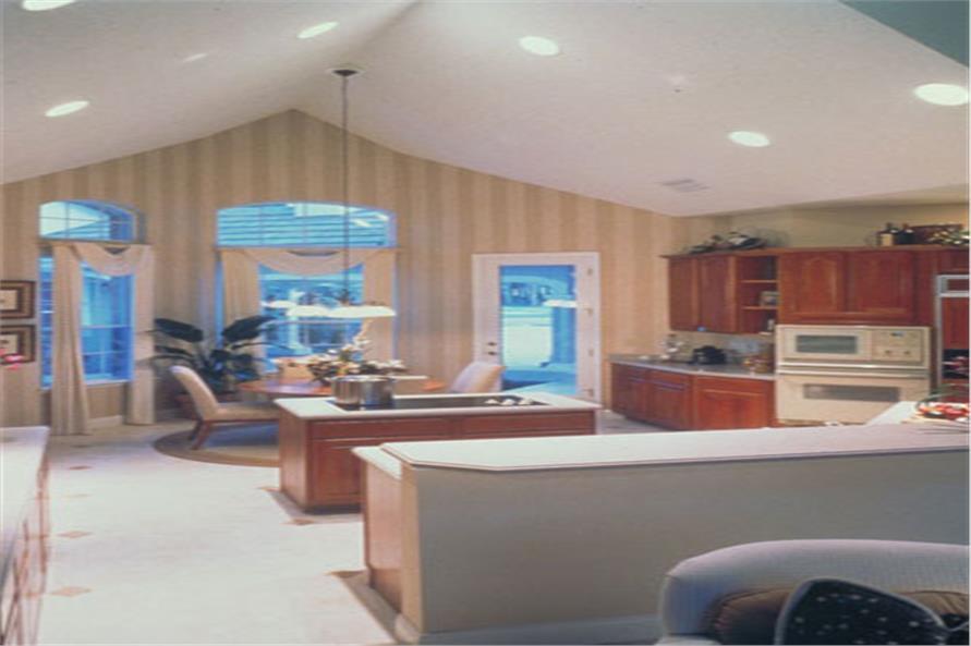 190-1004: Home Interior Photograph-Kitchen: Breakfast Nook