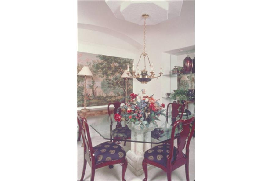 190-1007: Home Interior Photograph-Dining Room