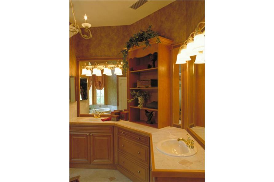 Master Bathroom of this 5-Bedroom,3424 Sq Ft Plan -3424