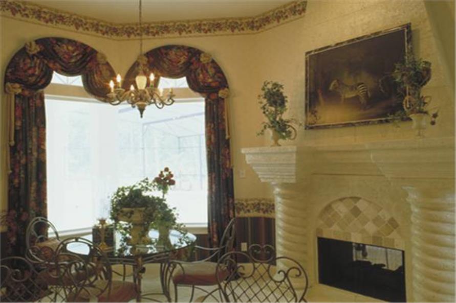 190-1009: Home Interior Photograph-Kitchen: Breakfast Nook